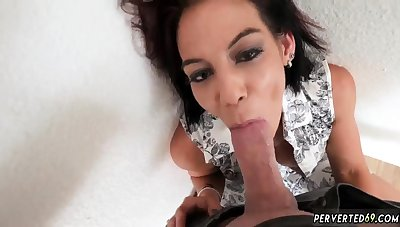 Mom anal dildo solo and step fucked on couch first time