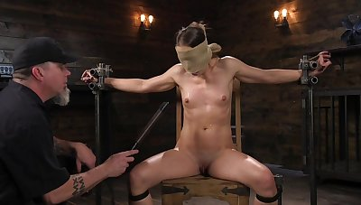 Submissive newborn leaves her master almost birch increased by clamp her merciless