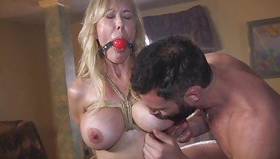 Mature fucked merciless in scenes of maledom