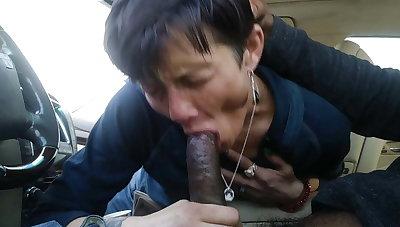 Hooker granny drag inflate BBC