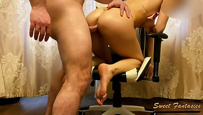 Slutty Nurse Couldnt Resist To Masturbate In Patients Home. She Was Stinking Cuming & Fucked