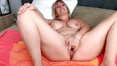 Dildo solo 49 adulthood BBW housewife with big breast